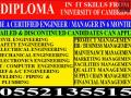 DIPLOMA IN IT SKILLS FROM UNIVERSITY OF CAMBRIDGE