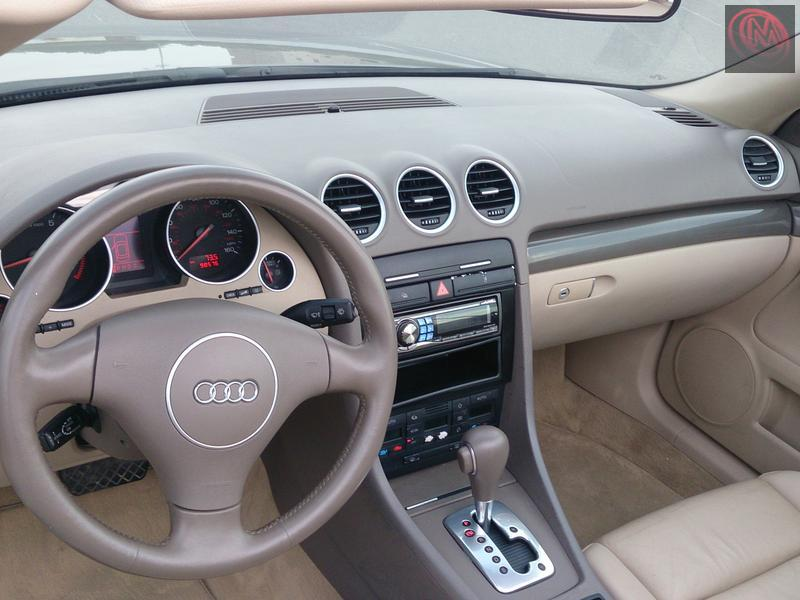 For Sale Audi A4 1 8t  Turbo Engine  2004 Convertible In