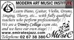 MODERN ART MUSIC INSTITUTE