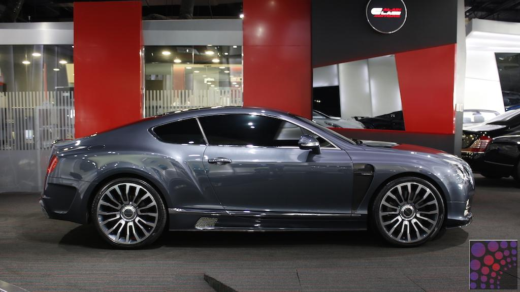 Bentley Continental Gt Mansory Body Kit